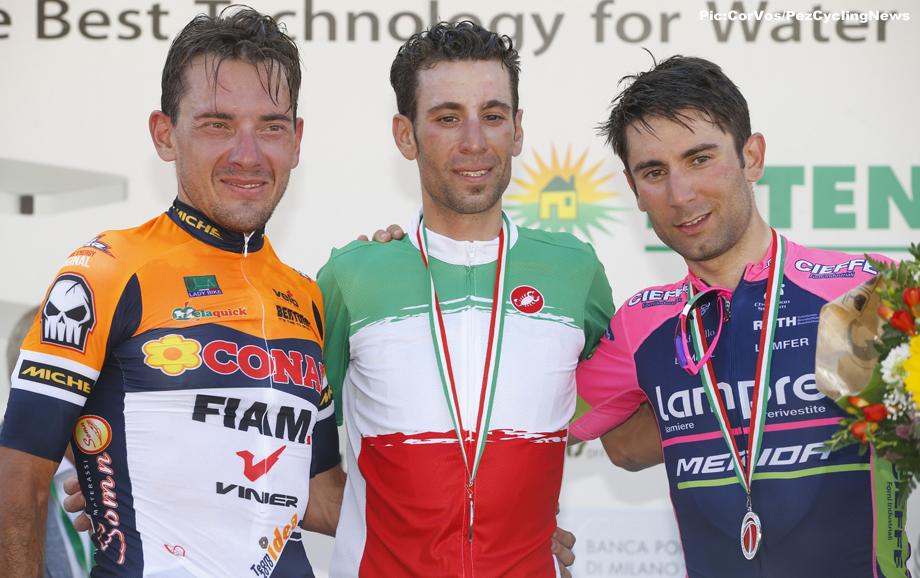 Italian Cycling Championships  road men elite 2015