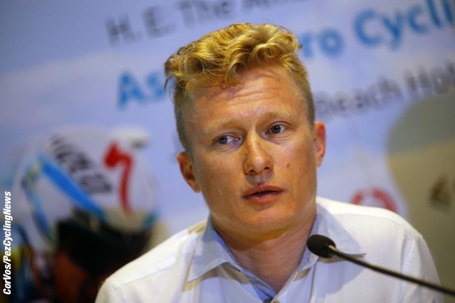 presentation team Astana 2015 in Duba