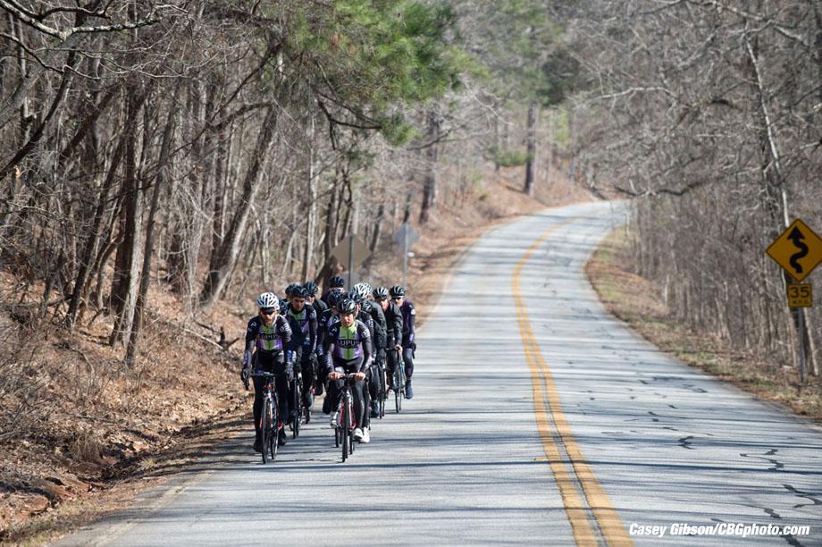 Lupus team training ride, Feb. 7, 2016 Pine Mountain, GA