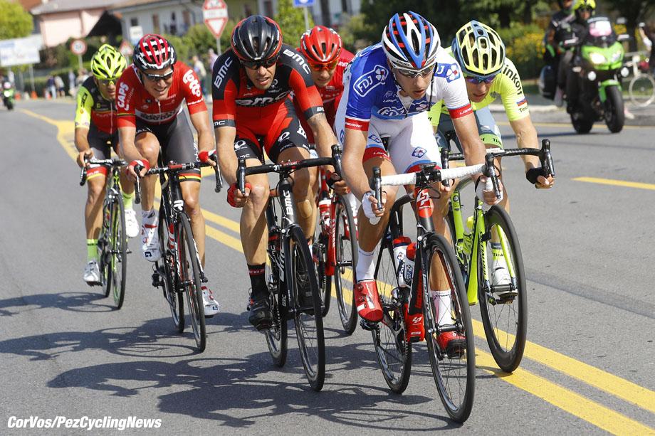 Cassano d'Adda - Italy - wielrennen - cycling - radsport - cyclisme -  Ignatas Konovalovas (FDJ)  pictured during  stage 17 of the 99th Giro d'Italia 2016 from Molveno - Cassano d'Adda 196 km  - foto LB/RB/Cor Vos © 2016