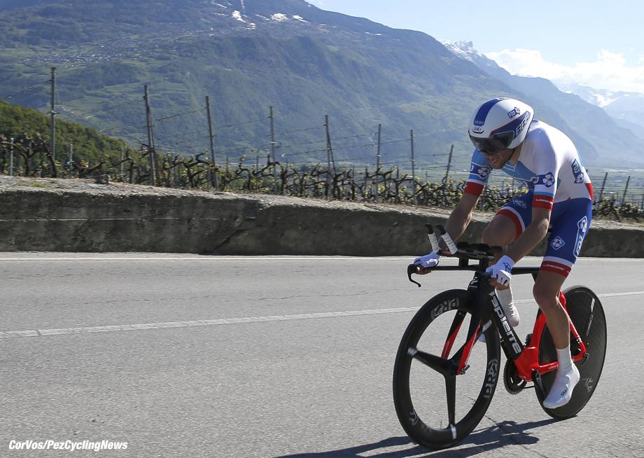 romandie 2016 stage 3 time trial Thibaut Pinot (FDJ)