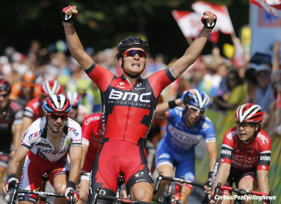 Gratwein-Straflengel - Austria - wielrennen - cycling - radsport - cyclisme -  Rick Zabel (BMC Racing Team)  pictured during stage 3 of the Int. ÷sterreich-Rundfahrt-Tour of Austria 2015 (2.HC) from Windischgarsten to Gratwein-Straflengel- photo Cor Vos © 2015