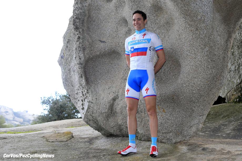 Arzachena  - wielrennen - cycling - radsport - cyclisme - Borut Bozic  pictured during  photoshoot Astana Pro Team 2013 - photo RB/Cor Vos © 2013