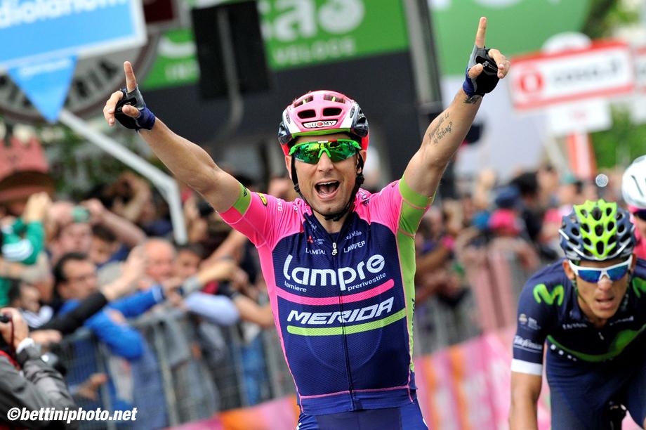 Giro d'Italia 2016 - 99a edizione - 11a tappa Modena - Asolo 227 km  - 18/05/2016 - Diego Ulissi (Lampre - Merida) - foto Dario Belingheri/BettiniPhoto©2016