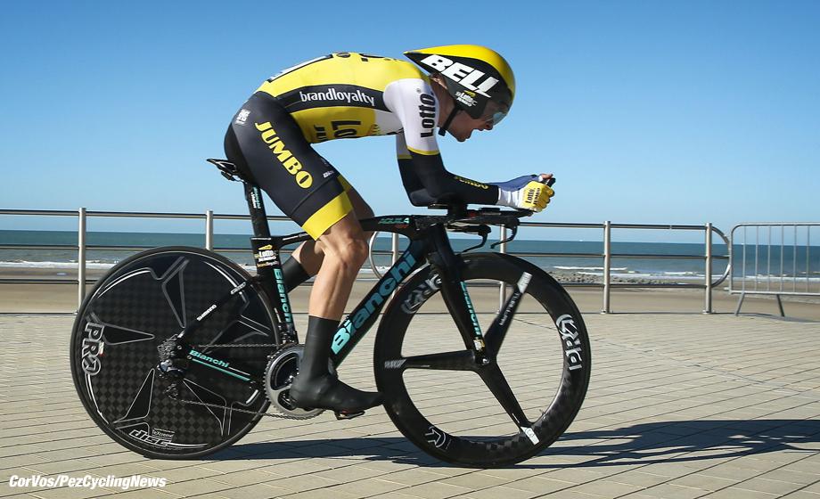 Middelkerke - Belgium- wielrennen - cycling - radsport - cyclisme - Alexey Vermeulen (LottoNL-Jumbo) pictured during 3-daagse van West-Vlaanderen - prologue in Middelkerke, Belgium photo David Pintens/Cor Vos © 2016