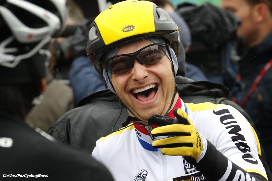 Luik - Belgium - wielrennen - cycling - radsport - cyclisme - Alexey Vermeulen (USA / Team LottoNL - Jumbo) pictured during Liege - Bastogne - Liege 2016 - photo Dion Kerckhoffs/Davy Rietbergen/Cor Vos © 2016