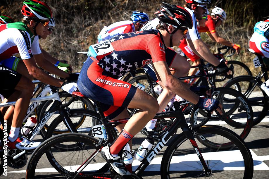 Ponferrada - Spain  - wielrennen - cycling - radsport - cyclisme - Alexey Vermeulen  pictured during  Championnats du Monde UCI CL / UCI RR World Championships (Men Under 23) - Road - weg -  WC - Wereldkampioenschap - photo VK/PN/Cor Vos © 2014