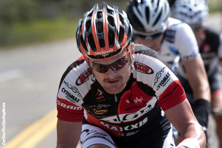 Clovis - California - USA - wielrennen - cycling - radsport - cyclisme - Amgen Tour of California  2009 - stage 4 - 4e etappe -  Merced to Clovis -  Floyd Landis - foto Wessel van Keuk/Cor Vos ©2009