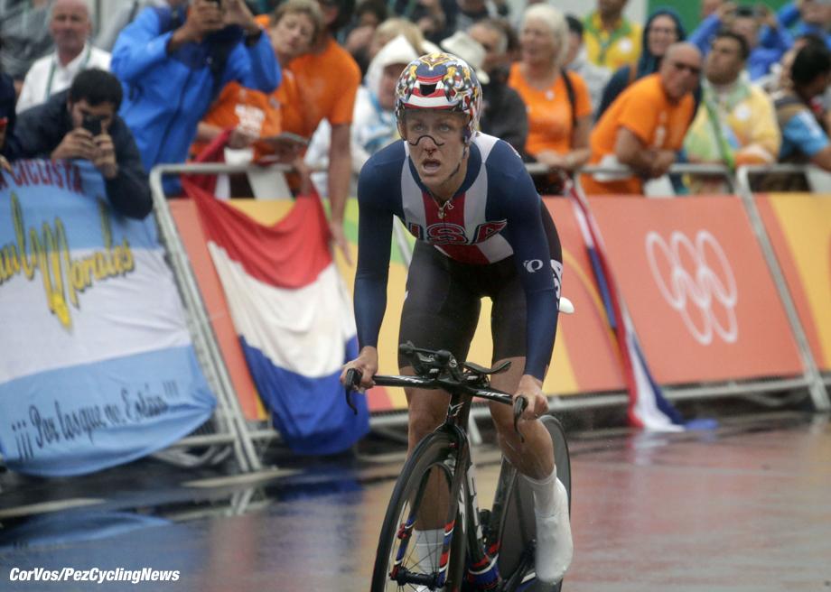 Rio de Janeiro - Brasil - wielrennen - cycling - radsport - cyclisme - Kristin Armstrong (USA) pictured during women's ITT - Olympic Games 2016 in Rio - photo Anton Vos/Cor Vos © 2016