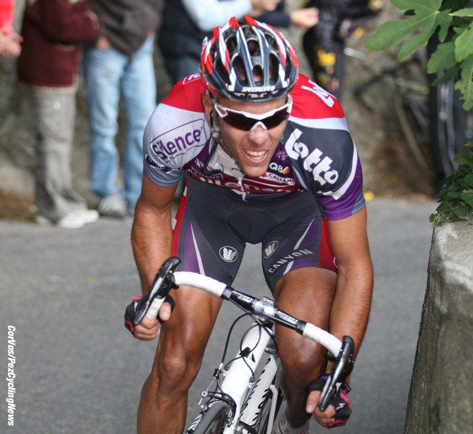 Como - Italia - wielrennen - cycling - radsport - cyclisme - Giro di Lombardia 2009 - Ronde van Lombardije - Philippe Gilbert (Belgie/ Team Silence - Lotto) - foto Cor Vos ©2009