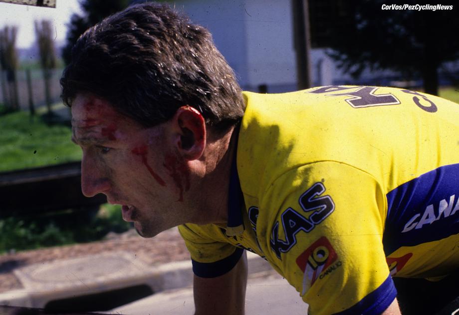 Hoogvliet - wielrennen - cycling - radsport - cyclisme - archief - Archive - Stockphoto - Sean Kelly - foto Cor Vos ©2008