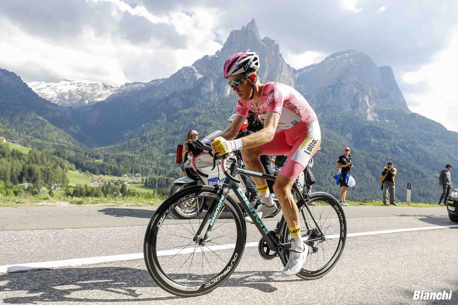 Giro d'Italia 2016 - 99a Edizione - 15a tappa Castelrotto - Alpe di Siusi 10.8 km - 22/05/2016 - Steven Kruijswijk (LottoNL - Jumbo) - foto Luca Bettini/BettiniPhoto©2016