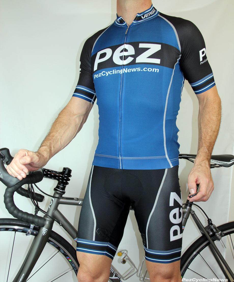 Verge Men/'s Elite EU Cycling Short Black//Orange Red Small New