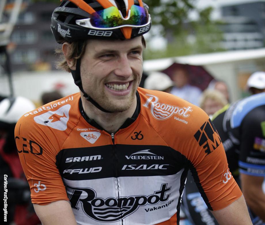 Emmen - Netherlands - wielrennen - cycling - radsport - cyclisme -  Marc De Maar (Team Roompot Orange peloton) pictured during Dutch National Championships road  for men elite in Emmen, the Netherlands on Juni 24-2015 - photo Carla Vos/Cor Vos © 2015