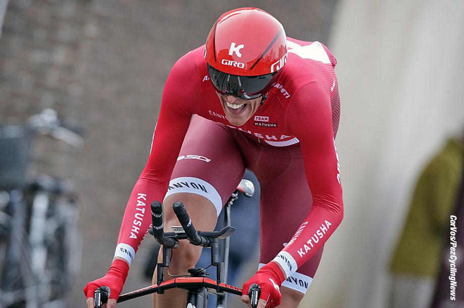 De Panne - Belgium - wielrennen - cycling - radsport - cyclisme - Nils Politt (Germany / Team Katusha)  pictured during Driedaagse De Panne Koksijde 2016 - Stage 3b - from De Panne to De Panne ITT Time trial individual - photo Davy Rietbergen/Cor Vos © 2016