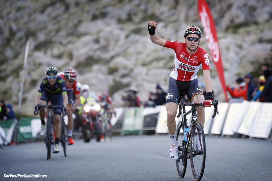 Mirador des Colomer  -  Mallorca - Spain - wielrennen - cycling - radsport - cyclisme - Tim WELLENS (Belgium / Team Lotto Soudal)  pictured during Trofeo Andratx-Mirador des Colomer 2017 - stage 3 - photo Sabine Jacob/Cor Vos © 2017