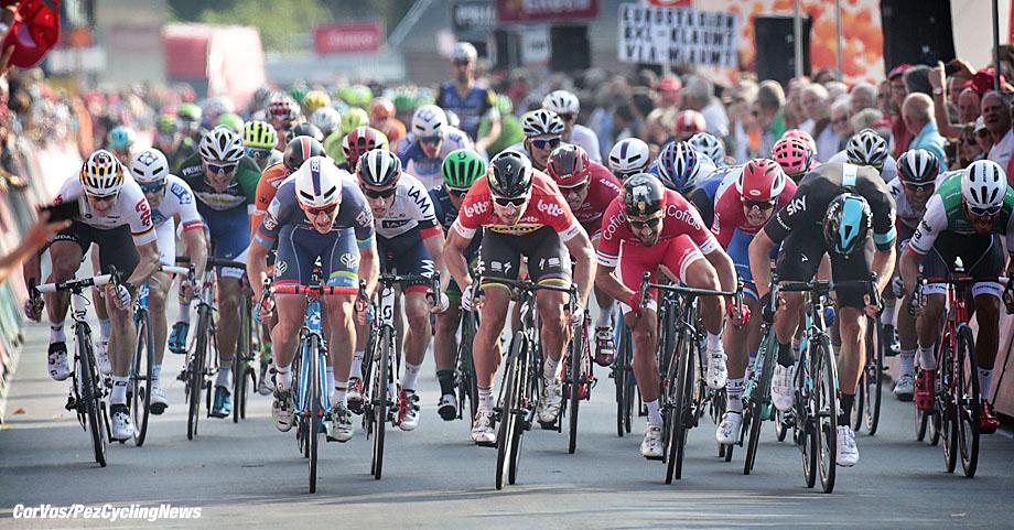 Ardooie - Belgium - wielrennen - cycling - radsport - cyclisme -  Peter Sagan (Slowakia / Team Tinkoff - Tinkov)  pictured during  Eneco Tour stage -3 - UCI World Tour) from Blankenberge to Ardooie - photo Miwa iijima/Cor Vos © 2016