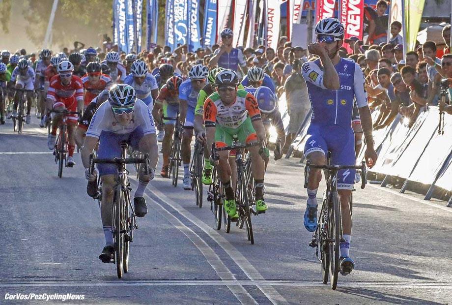 San Martin - Argentina - wielrennen - cycling - radsport - cyclisme - Fernando Gaviria (COL - QuickStep - Floors) pictured during Vuelta a San Juan 2017 - 35th Edition - stage 4 - San Martin - San Martin - photo IB/RB/Cor Vos © 2017