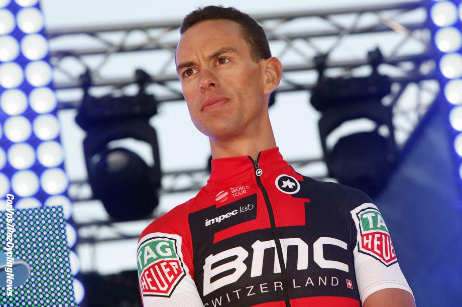 Adelaide - Australia - wielrennen - cycling - radsport - cyclisme - Richie PORTE (Australia / BMC Racing Team) pictured during the team presentation of the Santos Tour Down Under - photo Dion Kerckhoffs/Cor Vos © 2017