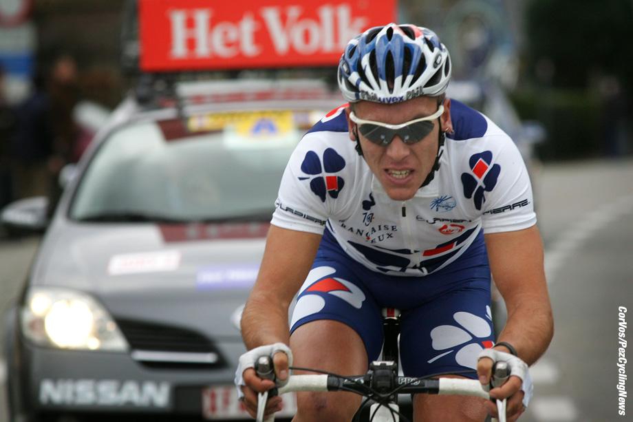 Gent - Belgie - wielrennen - cyclisme - cycling - radsport - Omloop Het Volk - Gent - Gent - Philippe Gilbert (La Francaise Des Jeux) - foto Wessel van Keuk en Cor Vos ©2008