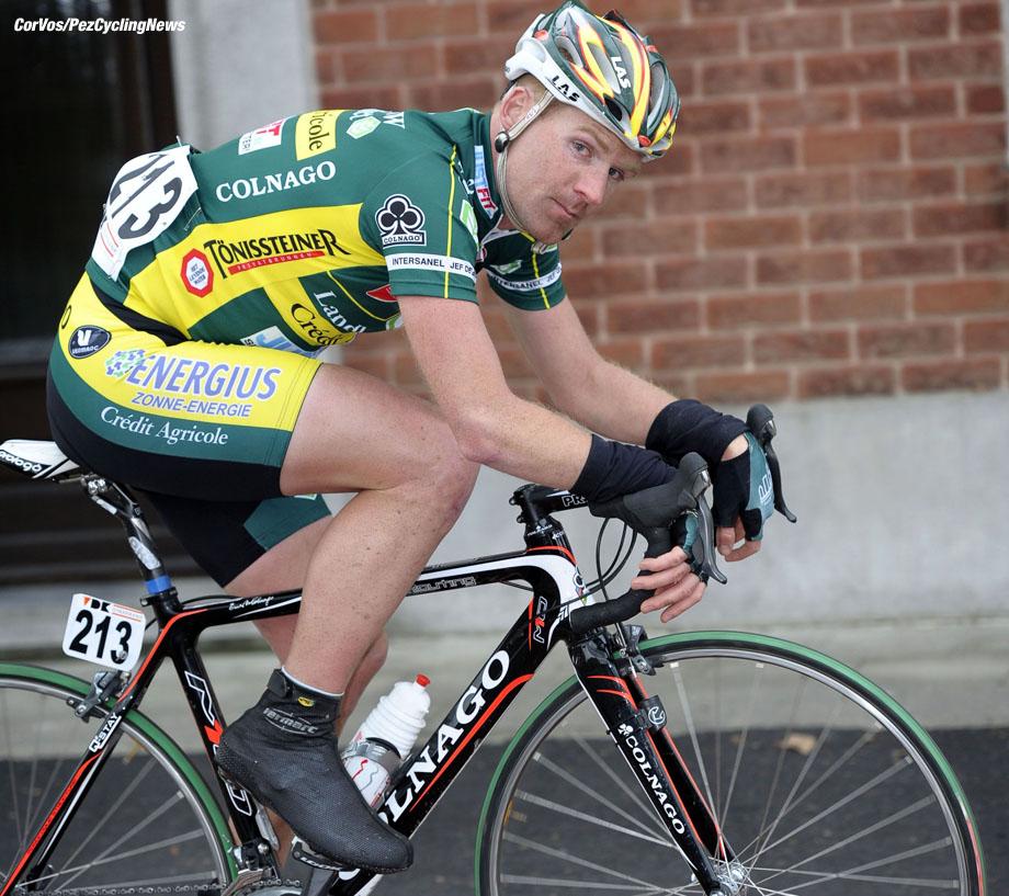 Kuurne - wielrennen - cycling - radsport - cyclisme - Kuurne - Brussel - Kuurne - Bobbie Traksel (Landbouwkrediet) - foto Cor Vos ©2011