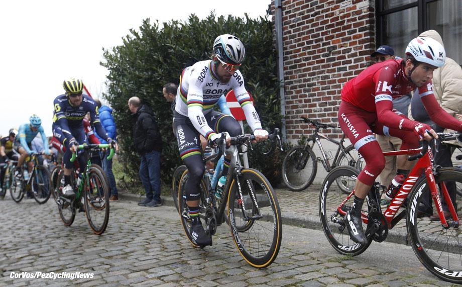 Kuurne - Belgium - wielrennen - cycling - radsport - cyclisme - Peter SAGAN (Slowakei / Team Bora - Hansgrohe) pictured during Kuurne-Brussel-Kuurne 2017 - photo Dion Kerckhoffs/Cor Vos © 2017