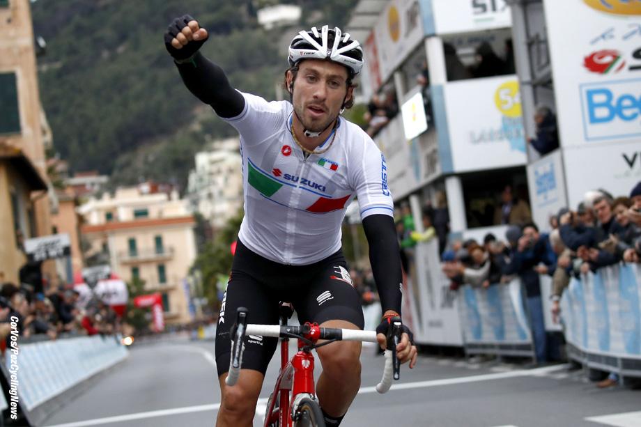 Laigueglia - Italy - wielrennen - cycling - radsport - cyclisme -  Fabio Felline (ITA - Nazionale Italiana)  pictured during 54th Trofeo Laigueglia (1.HC) from Laigueglia to  Laigueglia (192.5k) - photo LB/RB/Cor Vos © 2017