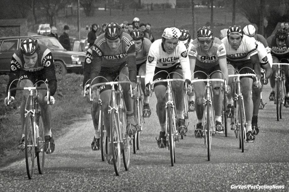 Hoogvliet - wielrennen - cycling - radsport - cyclisme - archief - archive - stock - Didi Thurau - Joseph Bruyere - Gerrie Knetemann - Eddy Merckx - foto Cor Vos ©2008
