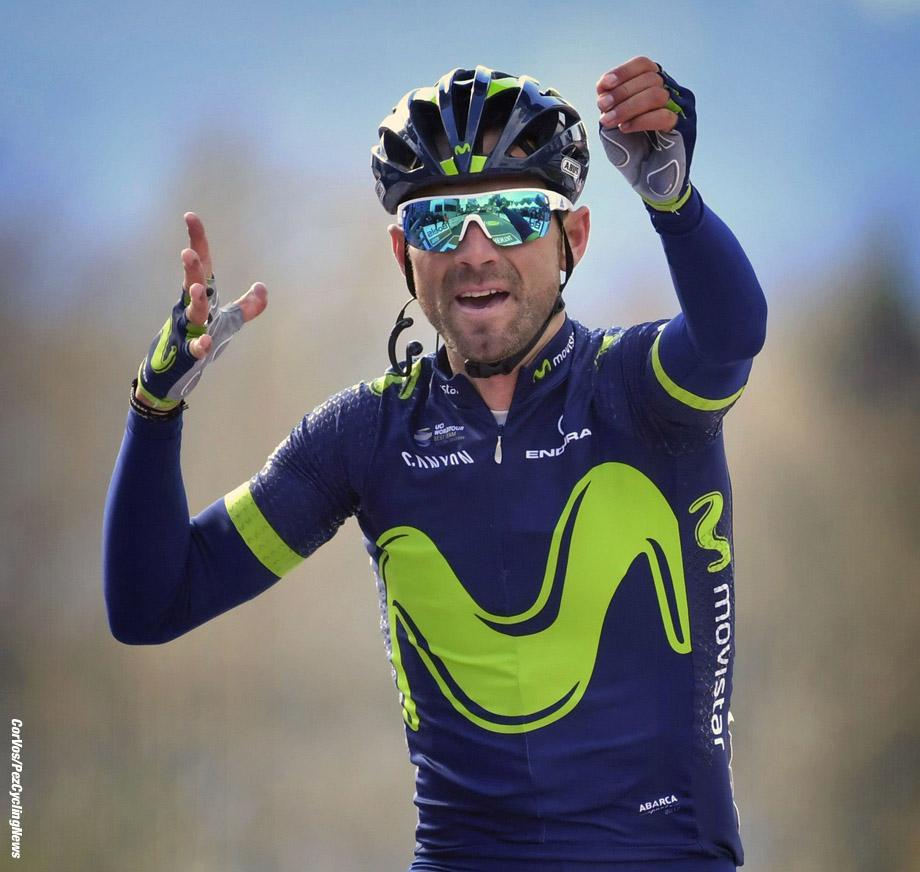 Huy - Belgium - wielrennen - cycling - cyclisme - radsport - VALVERDE BELMONTE Alejandro (ESP) Rider of Movistar pictured during the Fleche Wallone 2017 - foto VK/PN/Cor Vos © 2017