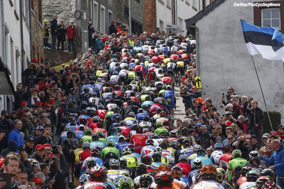 Liege - Belgium - wielrennen - cycling - cyclisme - radsport - Cote de Saint Roche pictured during Liege - Bastogne - Liege 2017 - UCI Worldtour - foto Dion Kerckhoffs/Cor Vos ¨© 2017