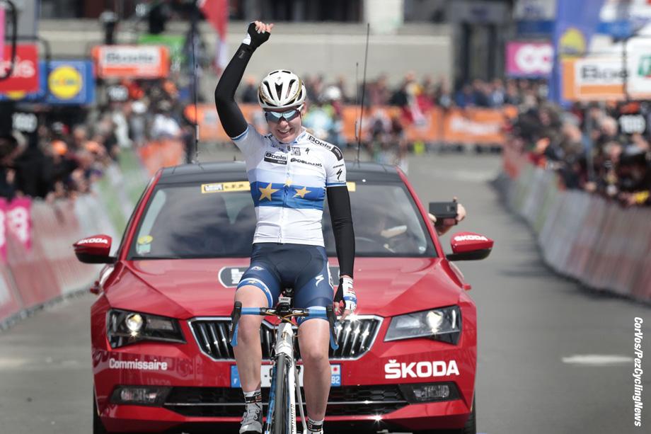 Liege - Belgium - wielrennen - cycling - cyclisme - radsport - Anna Van der Breggen (Netherlands Boels Dolmans) pictured during Liege - Bastogne - Liege 2017 women's race - UCI Worldtour - foto Davy Rietbergen/Cor Vos © 2017