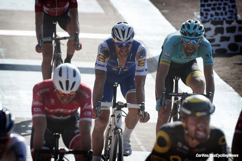 Roubaix - France  - wielrennen - cycling - cyclisme - radsport -  Tom BOONEN (Belgium / Team Quick Step - Floors)  pictured during the 115th Paris-Roubaix (1.UWT) - foto Davy Rietbergen/Dion Kerckhoffs/Cor Vos © 017