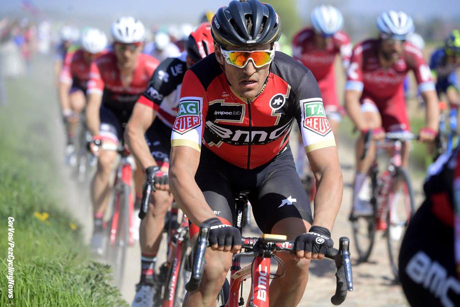 Roubaix - France  - wielrennen - cycling - cyclisme - radsport - Greg VAN AVERMAET (Belgium / BMC Racing Team) pictured during the 115th Paris-Roubaix (1.UWT) - foto NV/PN/Cor Vos © 017
