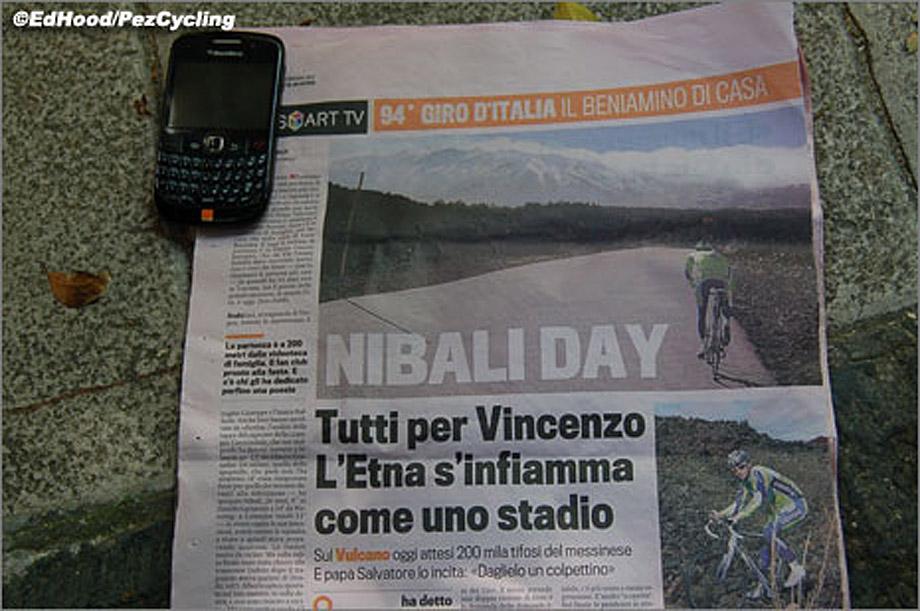 Roadside Retro Pez Giro 11 Nibali Day On Etna