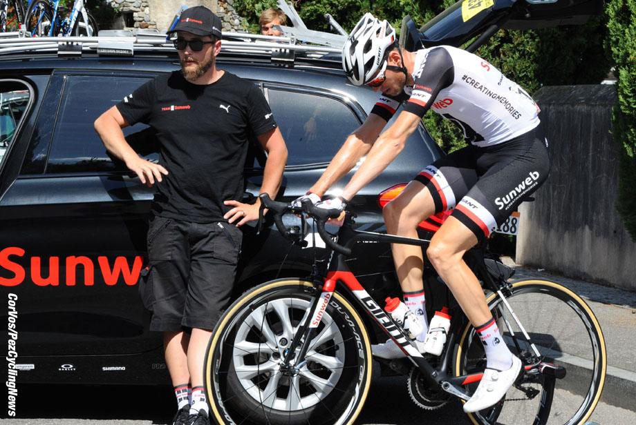 Canazei - Italia - wielrennen - cycling - radsport - cyclisme - Tom STAMSNIJDER (Netherlands / Team Sunweb) - pictured during team stage 17 of the Giro D'Italia 2017 from Tirano to Canazei, 219.00 km - photo Miwa iijima/Cor Vos © 2017
