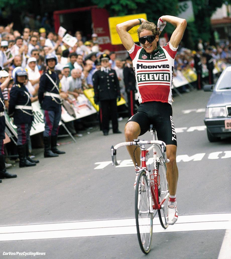 Giro D'Italia, foto Cor Vos ©1988 Andy Hampsten