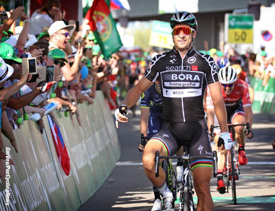 Schaffhausen - Suisse - wielrennen - cycling - radsport - cyclisme - Peter SAGAN (Slowakia / Team Bora - Hansgrohe)  pictured during stage - 8 of the Tour de Suisse 2017 stage -1 - from Schaffhausen to  Schaffhausen, 100.00 km - photo Rene Vigneron/Cor Vos © 2017