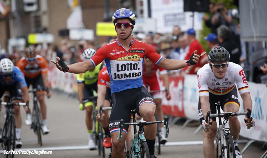 Buchten - Netherlands - wielrennen - cycling - radsport - cyclisme -  Dylan GROENEWEGEN (Netherlands / Team Lotto NL - Jumbo) pictured during Stage - 3 of the Ster ZLM Tour 2017 - Buchten - Buchten - photo Dion Kerckhoffs/Cor Vos © 2017