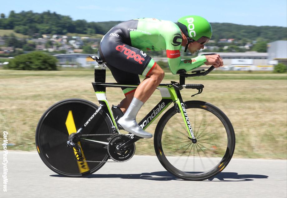 Schaffhausen - Suisse - wielrennen - cycling - radsport - cyclisme -  Ryan MULLEN (Ireland / Cannondale Drapac Professsional Cycling Team) pictured during stage - 9 of the Tour de Suisse 2017 stage -1 - from Schaffhausen to  Schaffhausen, 28.60 km ITT - photo Rene Vigneron/Cor Vos © 2017