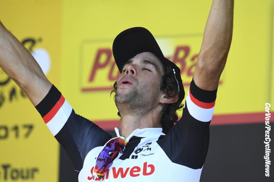 Romans-sur-Isère - France - wielrennen - cycling - cyclisme - radsport - Michael James MATTHEWS (Australia / Team Sunweb) pictured during the 104th Tour de France 2017 - stage 16 from Le Puy-en-Velay to Romans-sur-Isère, 165.00 km - foto NV/PN/Cor Vos © 20176