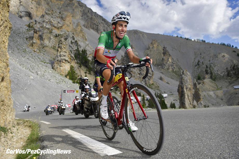 Izoard - France - wielrennen - cycling - cyclisme - radsport - ARU Fabio (ITA) Rider of Astana Pro Team pictured at La Casse Deserte  pictured during the 104th Tour de France 2017 - stage 18 from Briançon to Izoard, 179.50 km - foto  VK/PN/Cor Vos © 2017