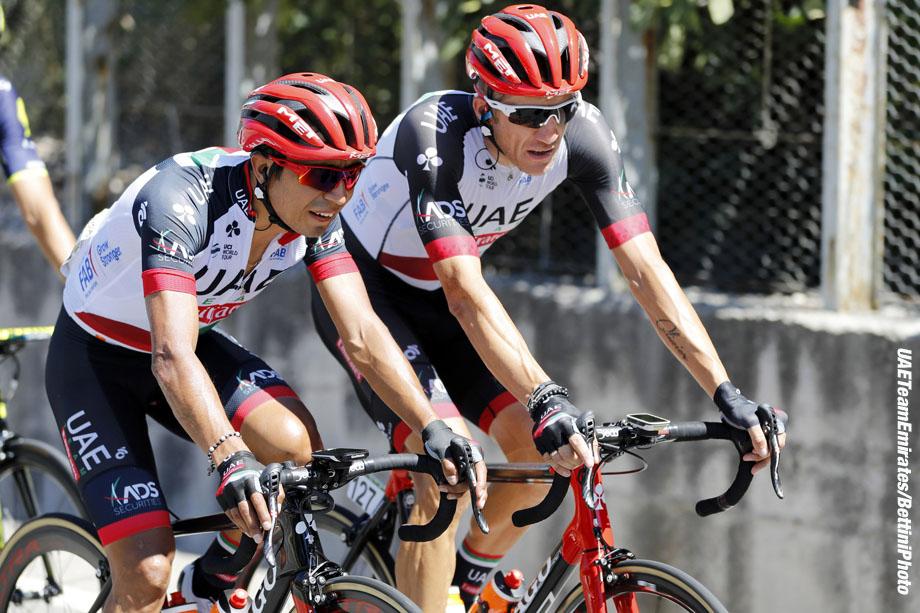 Vuelta Espana 2017 - 72th Edition - 4th stage Escaldes - Tarragona 198.2 km - 22/08/2017 - Darwin Atapuma (COL - UAE Team Emirates) - photo Luis Angel Gomez/BettiniPhoto©2017