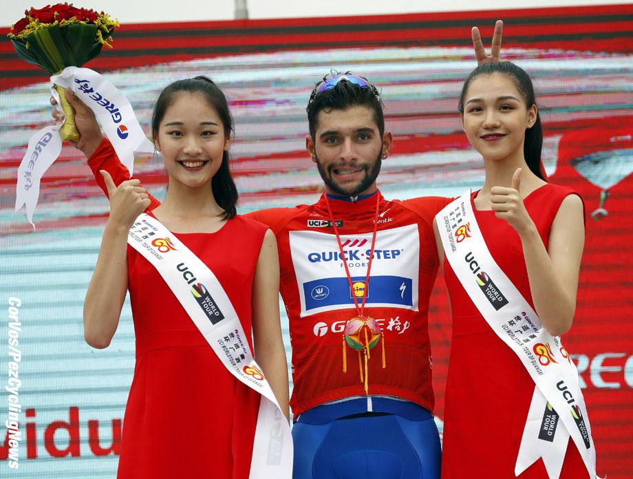 Beihai City - China  - wielrennen - cycling - cyclisme - radsport - Fernando GAVIRIA RENDON (Columbia / Team Quick Step - Floors) pictured during Tour of Guangxi 2017  stage 2 - Qinzhou - Nanning 156,7 km - 20/10/2017 - photo LB/RB/Cor Vos © 2017