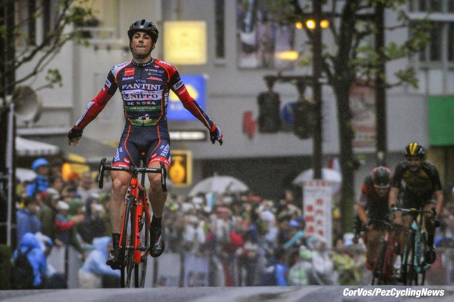 Utsunomiya - Japon - wielrennen - cycling - cyclisme - radsport - Marco CANOLA (Italy / Team Nippo - Vini Fantini)  pictured during Japan Cup Cycle Criterium in Utsunomiya - Japon - photo Miwa iijima/Cor Vos © 2017