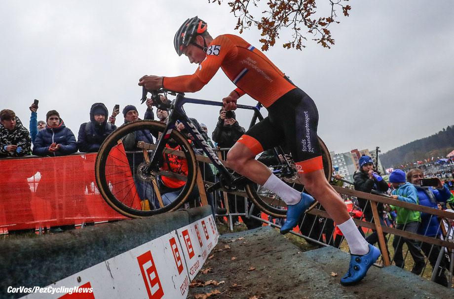 Tabor - Czech Republic - wielrennen - cycling - cyclisme - radsport - Mathieu Van Der Poel (Netherlands NED) pictured during  2017 UEC Cyclo-Cross European Championships in Tabor, Czech Republic - 05/11/2017 - photo LB/RB/Cor Vos © 2017