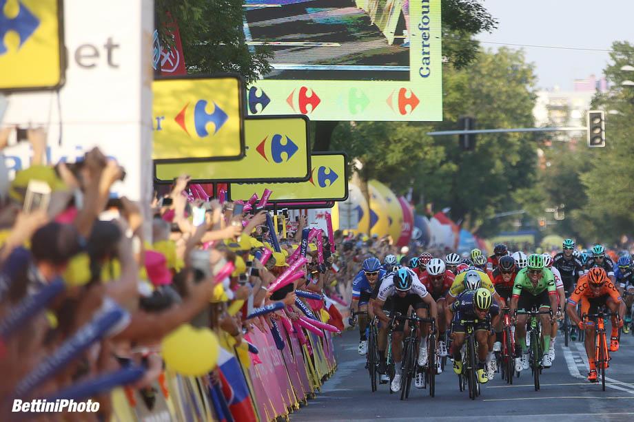 Tour de Pologne 2017 - 4th stage stage Zawiercie - Zabrze 238 km - 01/08/2017 - Caleb Ewan (AUS - ORICA - Scott) - Peter Sagan (SVK - Bora - Hansgrohe) - photo Ilario Biondi/BettiniPhoto©2017