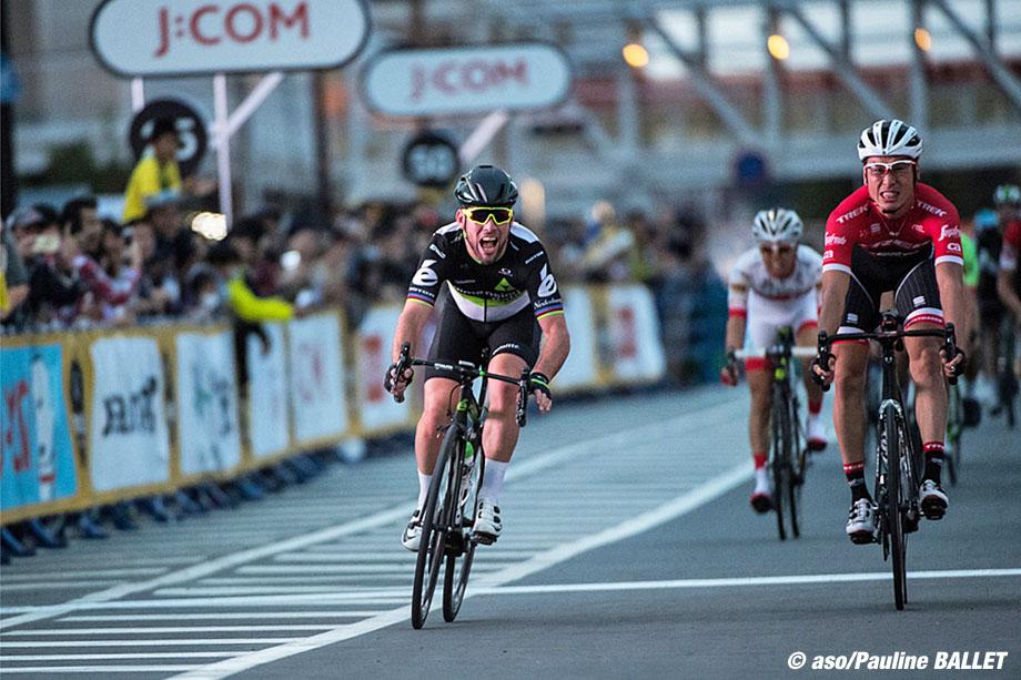 Le Tour de France Saitama Criterium 2017 - 04/11/2017 - Saitama - Japon - Arrivée au sprint avec la victoire de Mark CAVENDISH (TEAM DIMENSION DATA)