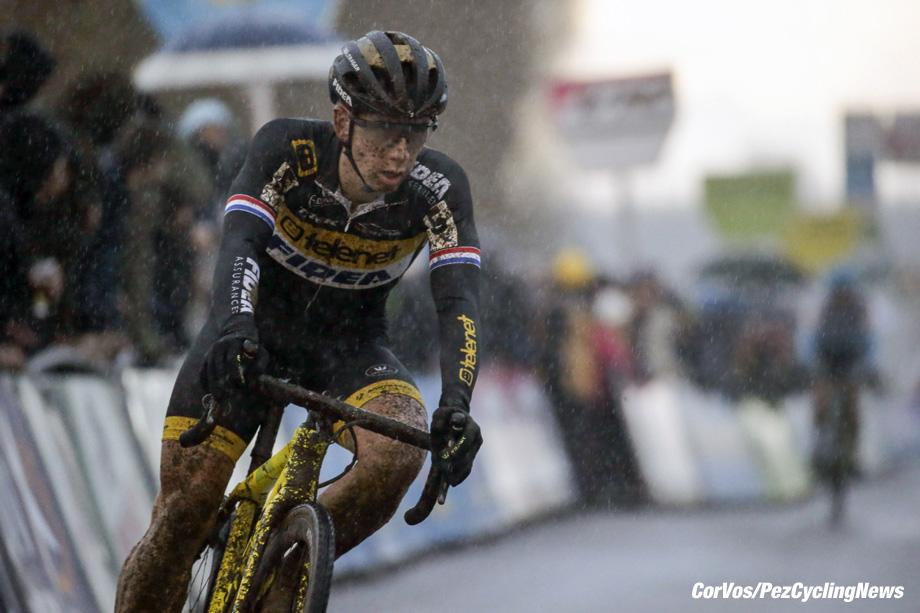 Antwerpen - Belgium - wielrennen - cycling - radsport - cyclisme -  Lars van der Haar (Ned)   pictured during DVV Trofee - Scheldecross Antwerpen 2017 men Elite - photo Anton Vos/Cor Vos © 2017