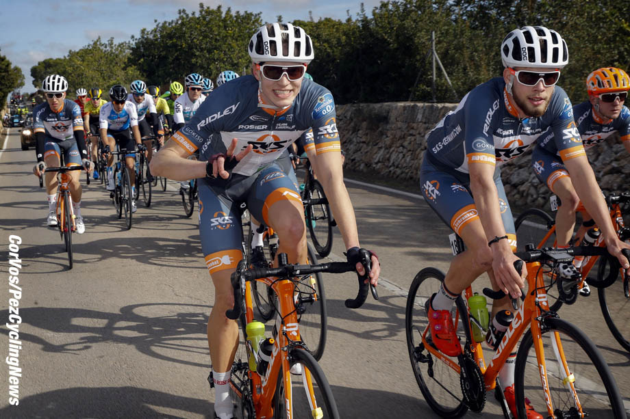 Mallorca - Spain - wielrennen - cycling - cyclisme - radsport -   pictured during the Trofeo Campos (1.1) a one Day Race from Campos to Ses Salines (177.7KM) - photo Luis GomezCor Vos © 2018
