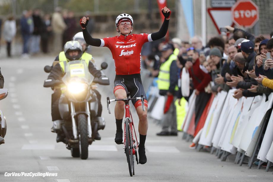 Mallorca - Spain - wielrennen - cycling - cyclisme - radsport - Toms SKUJINS (Letland / Team Trek Segafredo) pictured during the Trofeo Lloseta - Andratx a one day race from Lloseta to Andratx (165.8KM) - photo Luis GomezCor Vos © 2018